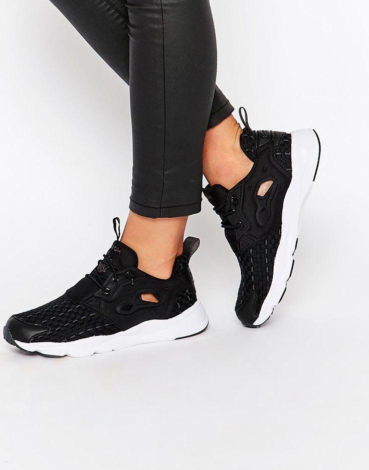 Reebok   Reebok – New Furylite – Schwarze Sneakers bei ASOS