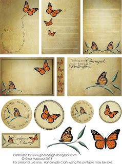 ginasdesigns.blogspot.ca- Butterflies- collage- tags-cards-graphics- click the download link under the image- pdf downloads- save as!