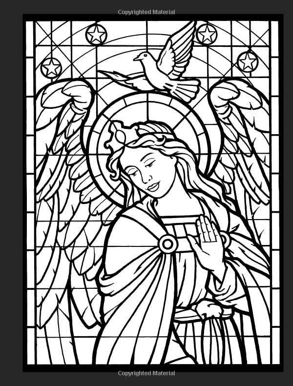 coloring pages of angels wings - photo#38