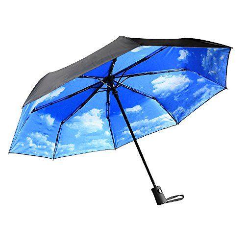 Parapluies   Parapluie pliant Innoo Tech avec protection…
