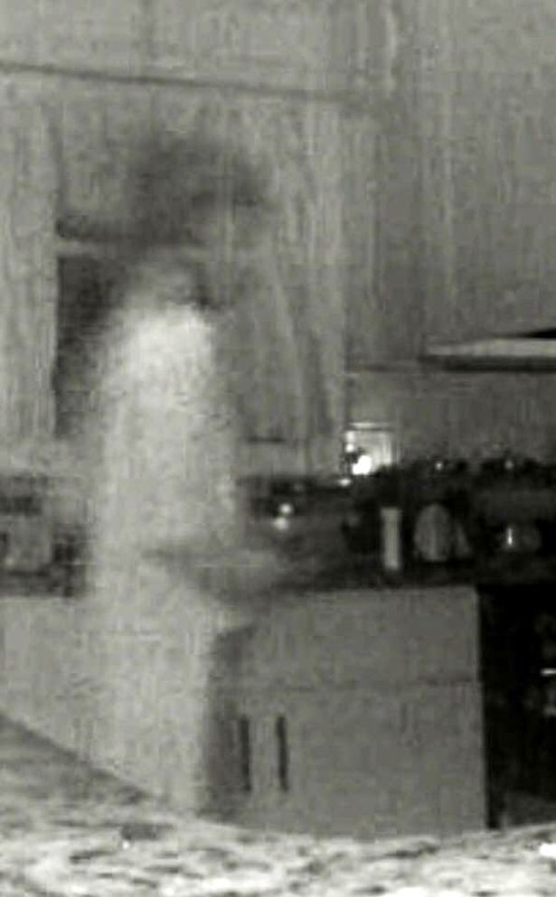 Mum spots 'dead son's ghost' on kitchen CCTV after figure ...