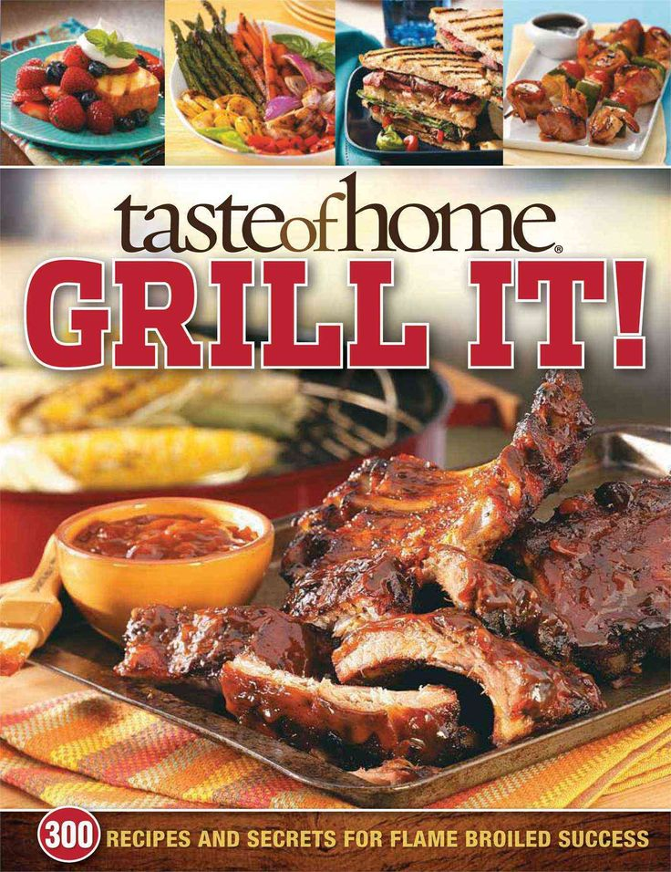 77% of all Americans own an outdoor grill , and with more people cooking at home these days, grilling and barbecuing are on the rise. Taste of Home Grill It! offers over 300 family-favorite recipes as