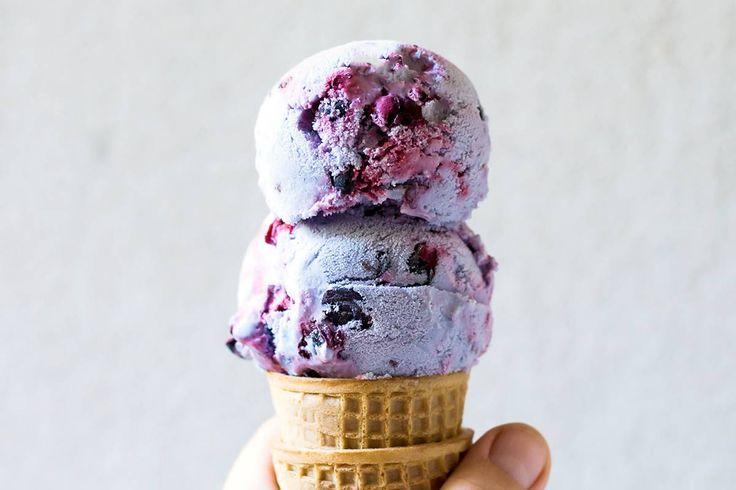 Black Currant Ice Cream
