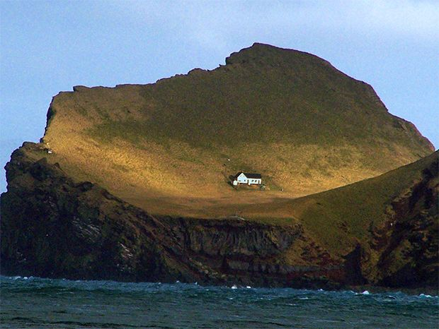 As a thank you for her cultural contributions to Iceland, Björk was given a small island. Greatest gift ever.
