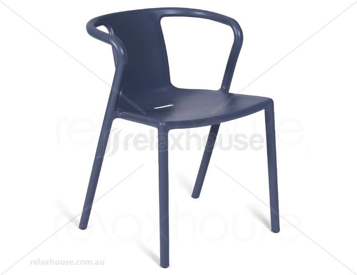 Kazbah Poly Air Chair With Arms - Grey