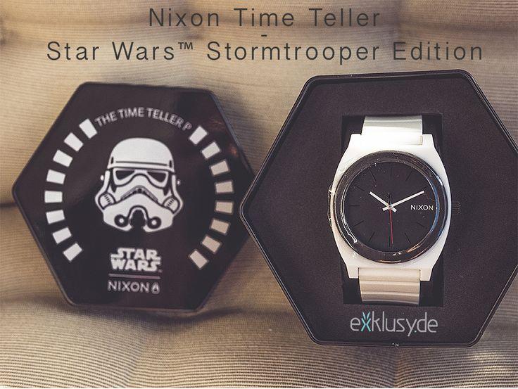 Gewinnspiel – Nixon Time Teller Star Wars™ Stormtrooper Edition