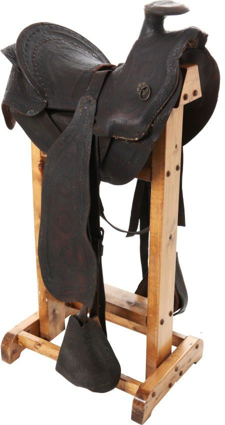 George Armstrong Custer: His Personal Calvary Saddle from the Indian Wars Period sold for $95,000