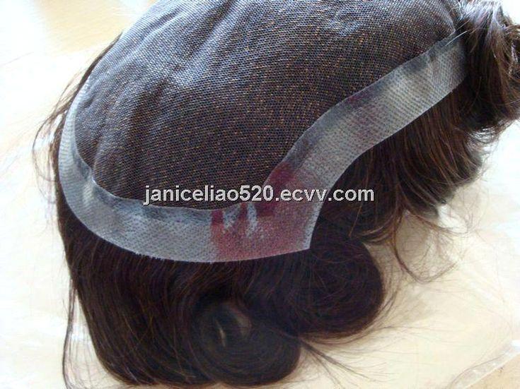 100% human hair toupee (HST12100804) - China hair toupee, Hot Style Hair
