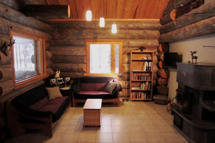 hirvipirtit lapland cabins Finland, cabin nr 2, livingroom