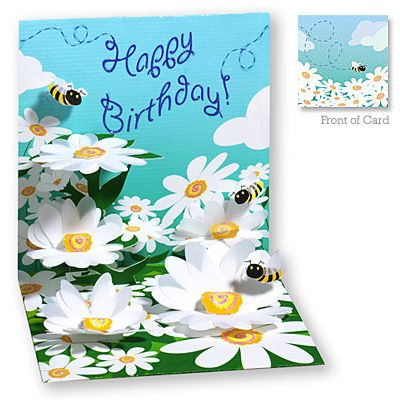 Bees & Daisies  #Birthday [ http://www.thegoodlifestore.com/store/index.php?main_page=popup_image&pID=774 ]