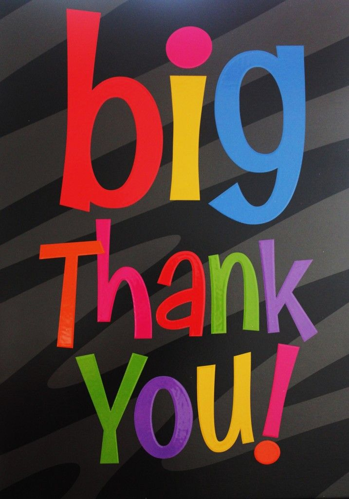 Big Thank you Thank you quotes for birthday, Thank you