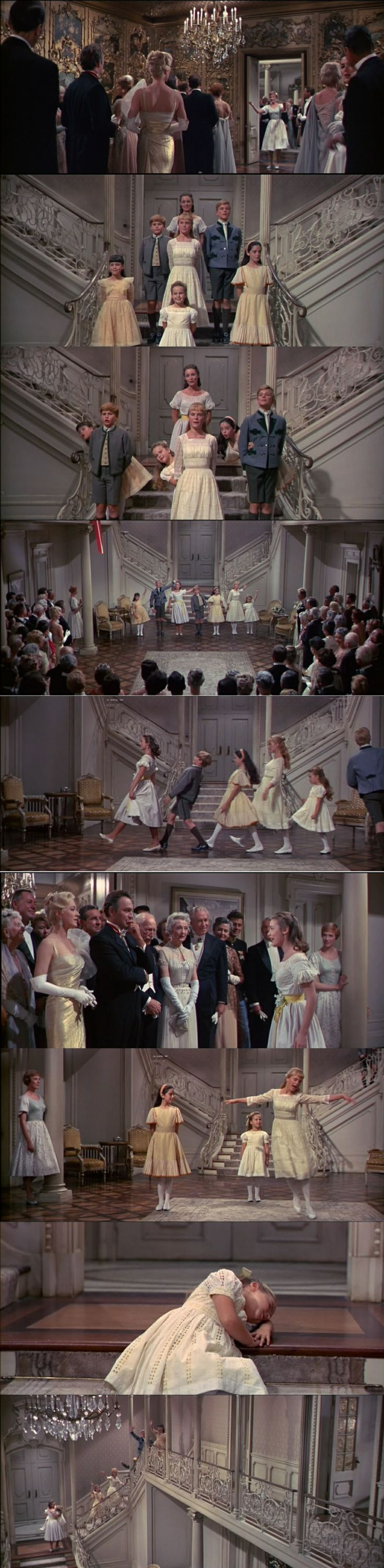 """The Sound of Music 1965 """"So long, farewell"""""""