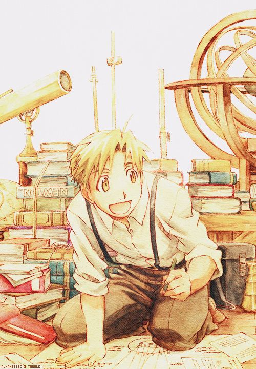 Al, Full Metal Alchemist. Possibly my favourite character from the series :D