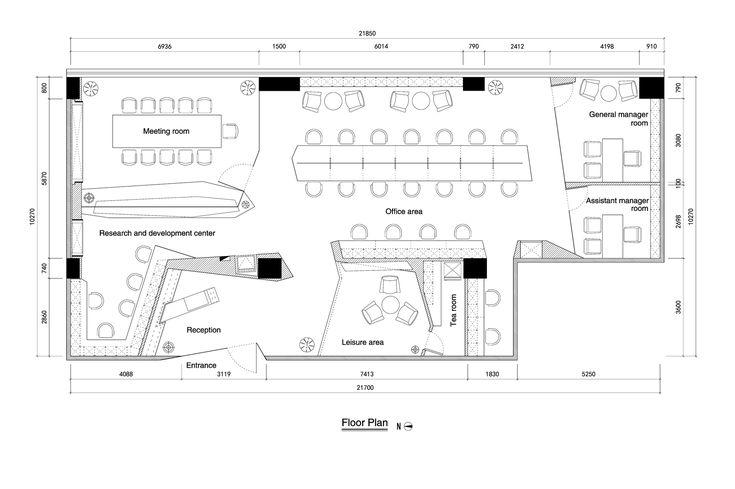 Image 18 of 18 from gallery of Paper Folding Space - ELLE Office / feeling Brand Design Co. Ltd. Floor Plan