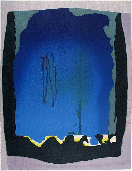 Another very interesting piece by Helen Frankenthaler (1993)