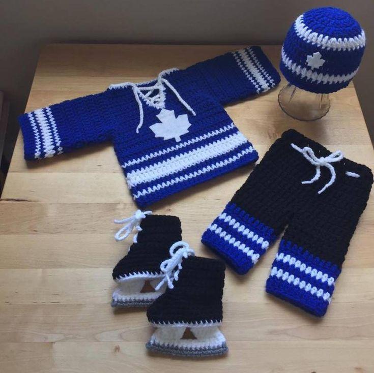 Crochet baby hockey jersey *jersey pattern only* | Craftsy