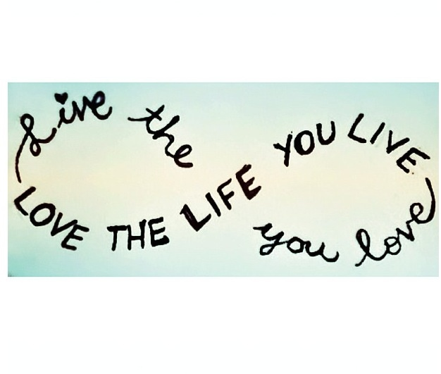 Live The Life You Love Quote Mesmerizing 103 Best Quotes Images On Pinterest  Favorite Quotes Inspirational