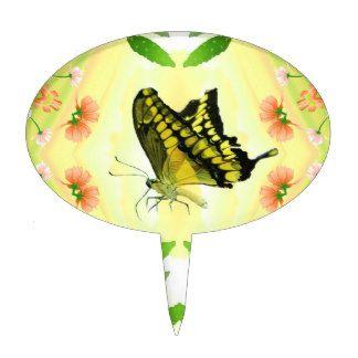 Summer Lover Butterfly Cake Topper