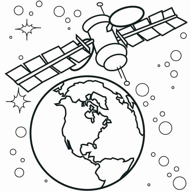 24 Rocket Ship Coloring Page in 2020 Space coloring