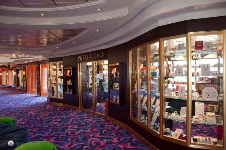 duty free shop that opens shortly after you enter international waters  #NCL #Travel #Cruising #Staffa #Vacation