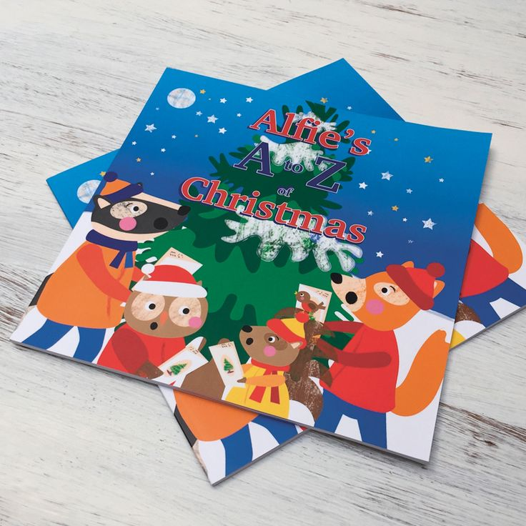 A to Z of Christmas Personalised Childrens Book
