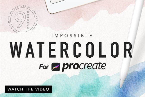 Procreate Watercolor Kit Watercolor Kit Watercolor Paper