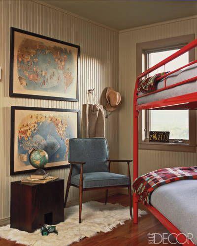 camp style for Jake's big boy bedroom someday