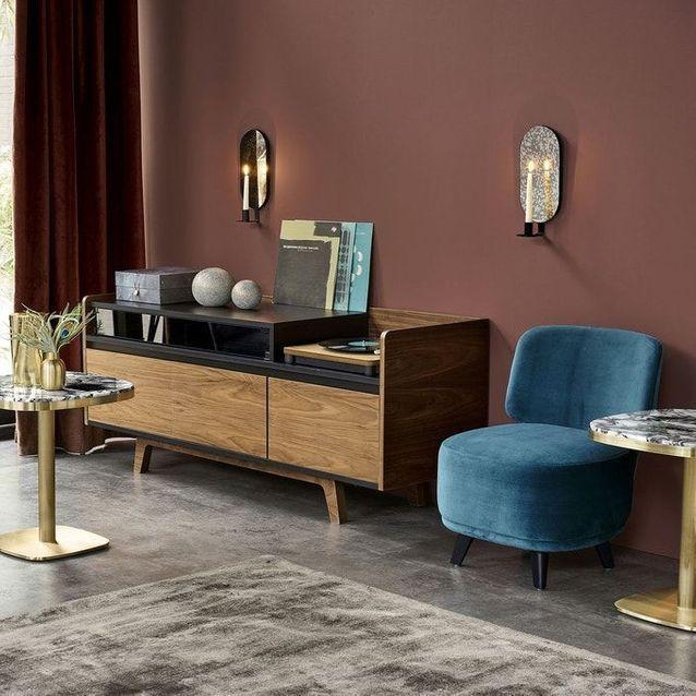 Soldes La Redoute Interieurs Ete 2020 20 Pieces Qui Nous Font Craquer Elle Decoration En 2020 Meuble Vinyle Mobilier De Salon Meuble Hifi