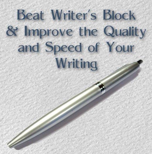 Beat Writer's Block   How to Improve Writing Skills and Speed