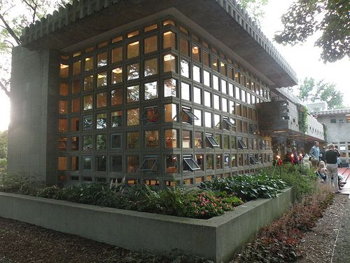 Turkel House. Detroit. 1956. Frank Lloyd Wright. Usonian.
