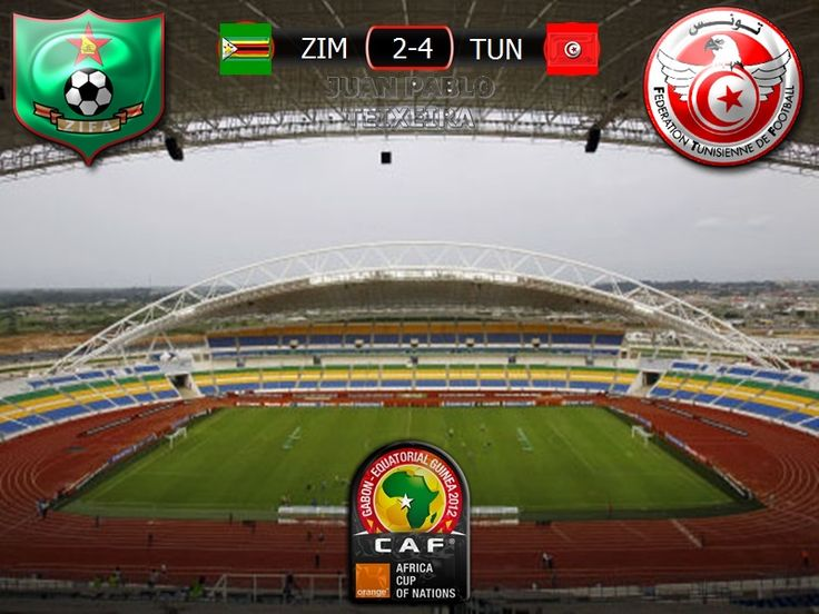 Copa Africana de Naciones Gabon 2017 Grupo B 3º Fecha: Zimbabue 2-4 Tunez
