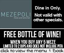 Booking Coupon - Mezepoli, Camps Bay, Cape Town