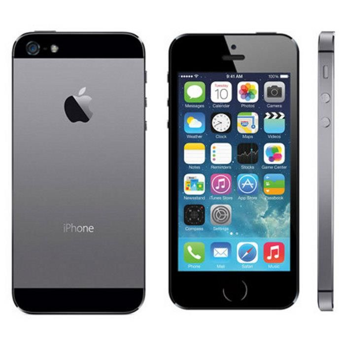 #iPhone 5S Black