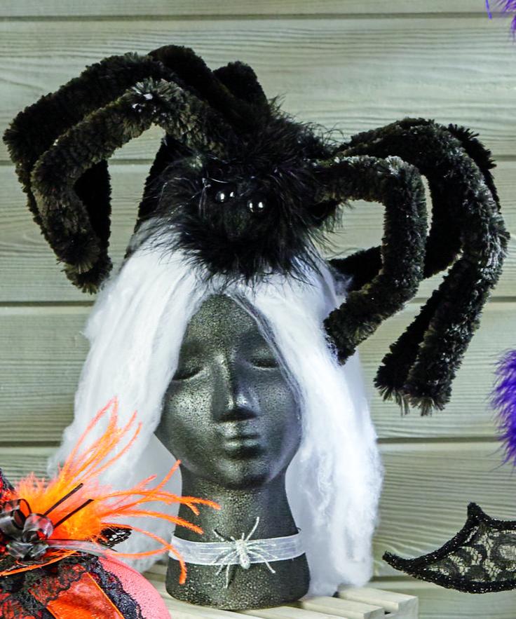 Giant Wooly Spider Halloween Headband