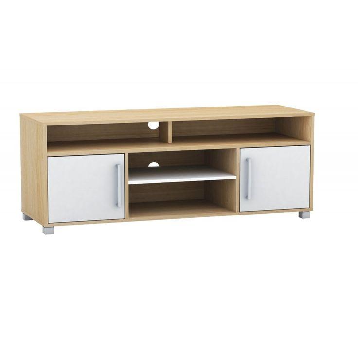 TV stand Decon MB birch-white 120x40x54