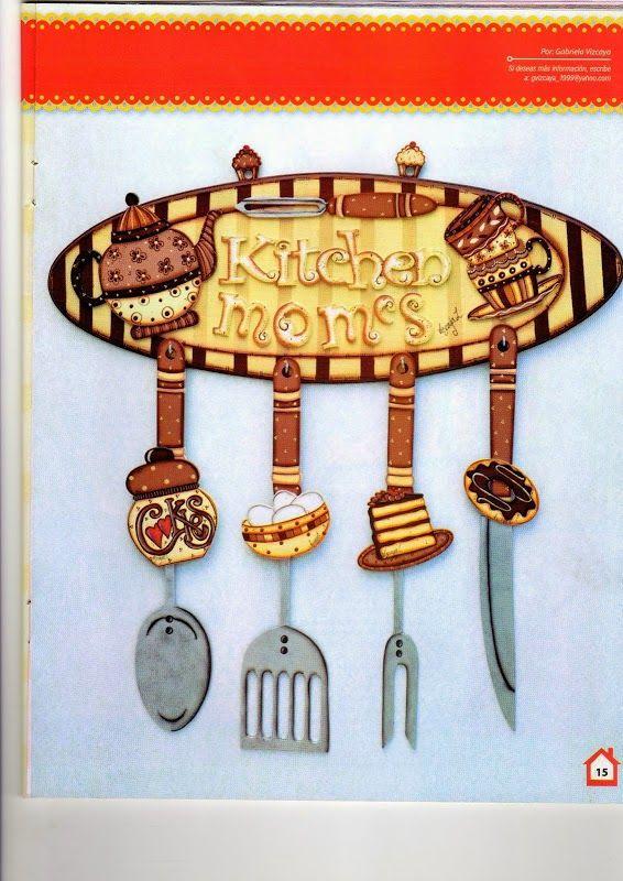 215 best images about manualidades en madera on pinterest for Manualidades para la cocina