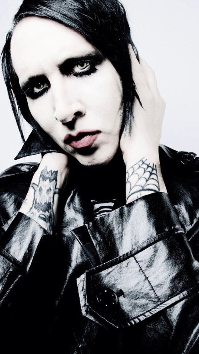 Marilyn Manson just bc I think he's a fascinating individual and interesting to look at. I liked his first few albums, but after 2000 The White Stripes, MCR, and Ryan Adams (just to name a few) took over my musical interests.