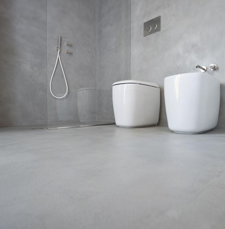 29 best Bathroom with Microtopping images on Pinterest Bathroom - fliesenspiegel glas küche