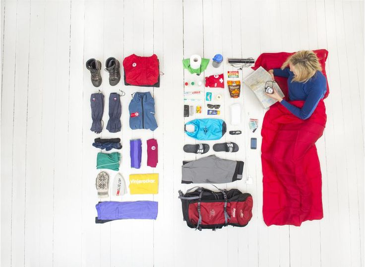 Pakkeliste sommer  — Den Norske Turistforening