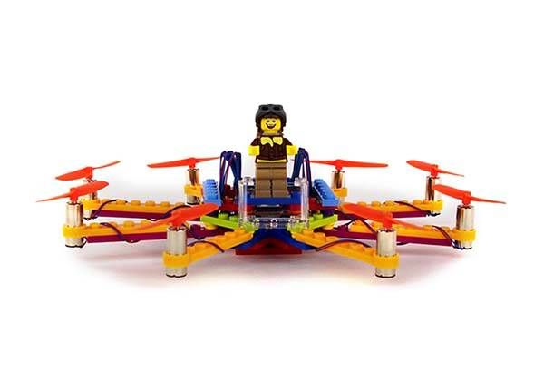 Flybrix Kit Lets You Build Flying Drone With LEGO Bricks DIY -  ford raptor 2016 decal