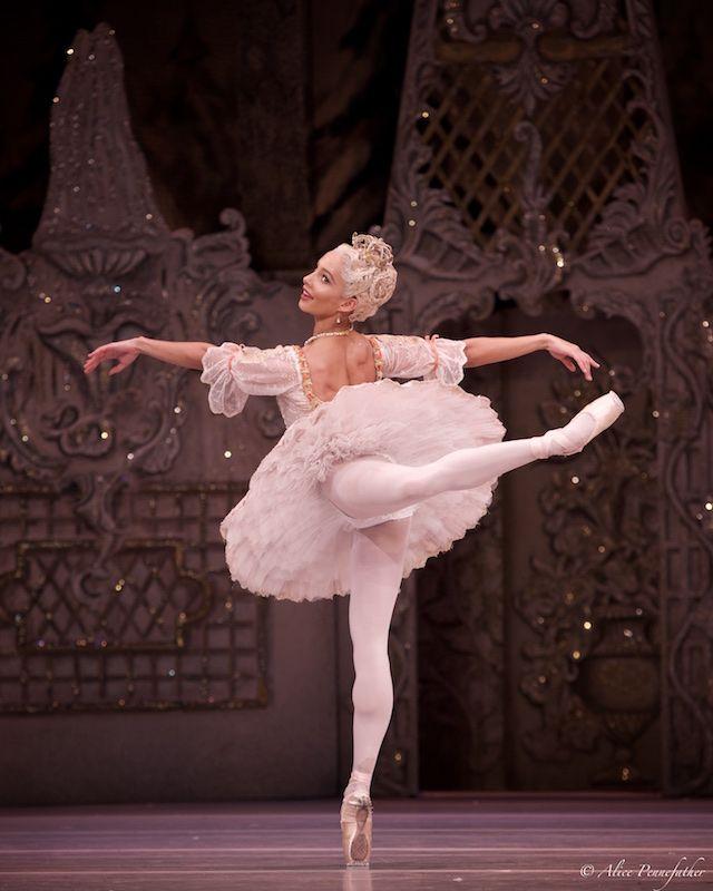 Francesca Hayward as the Sugar Plum Fairy in 'The Nutcracker' - Photo by Alice Pennefather