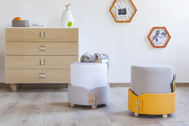 Polsino pouf by Alessandro Damin for Formabilio » Retail Design Blog