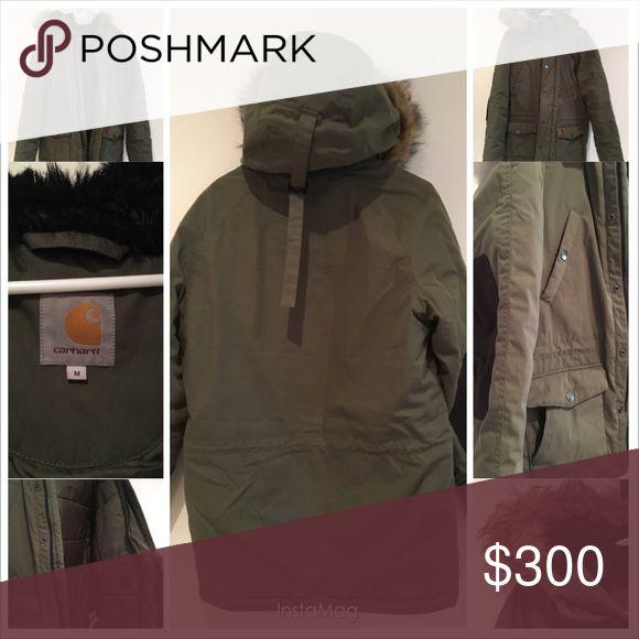Men's Parka Coat Carhart men's parka. Super warm and in great condition. Carhartt Jackets & Coats