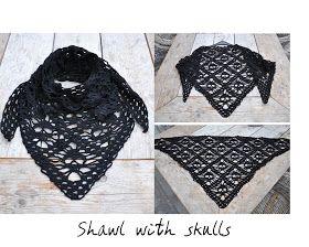 Skull sjaal (nl down load)
