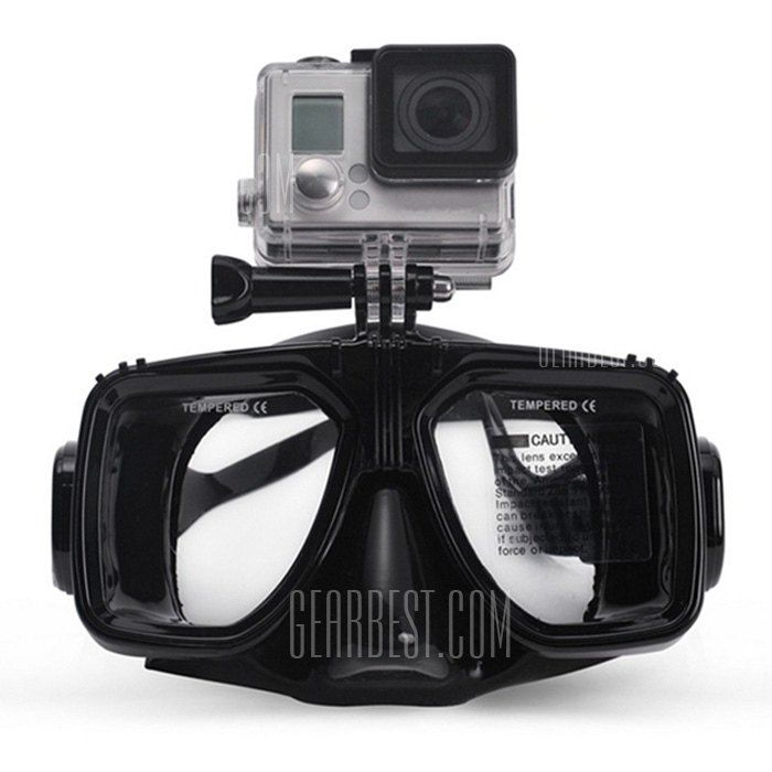 Practical Diving Goggles with Action Camera Mount for GoPro / Xiaomi Yi-14.83 and Free Shipping | GearBest.com Mobile