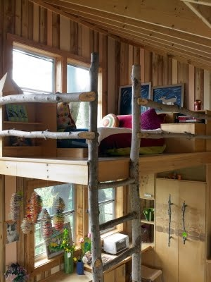 17 best images about convert shed for boys on pinterest for Shed roof cabin with loft