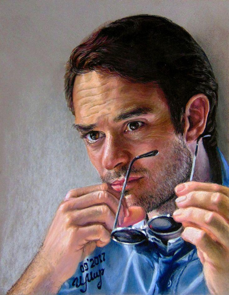 Pastel painting,  Pastelmat, 32x24 cm