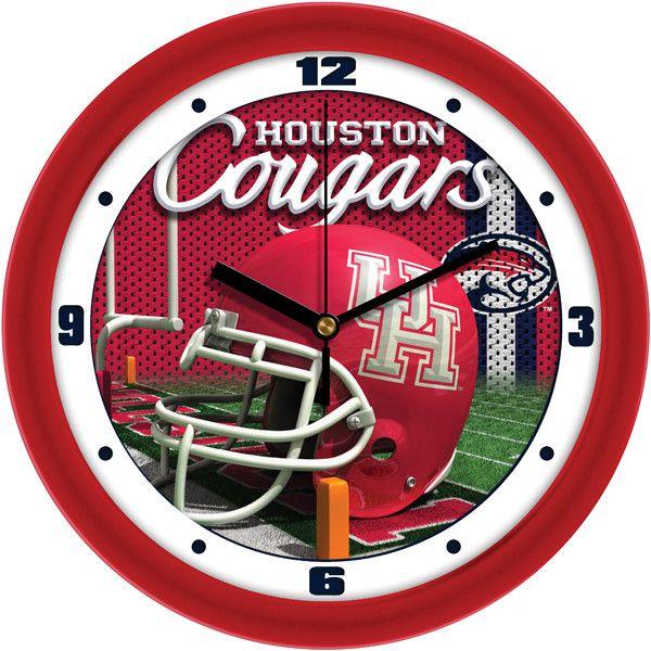 Houston Cougars - Football Helmet Wall Clock