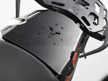 SEAT-RACK. Black. KTM 1190 Adventure / R (13-). - SW-MOTECH und BAGS-CONNECTION