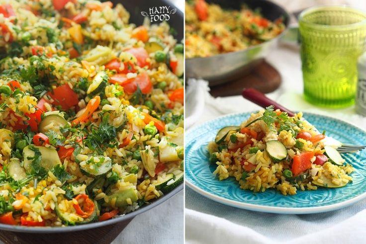 Рис с овощами а ля паэлья (готовлю с помошью посуды iCookTM)